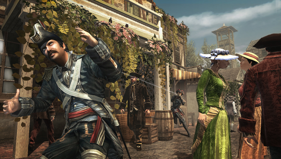 Ubisoft Happy With Assassin S Creed Iii Liberation Sales