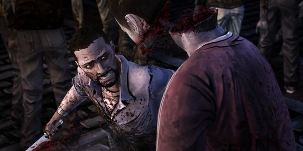 First Screen For The Walking Dead: The Game Finale Released