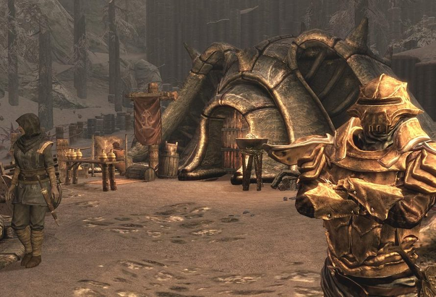 """Skyrim Dragonborn DLC Coming to """"PS3 and PC Early Next Year"""""""