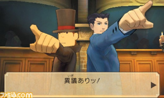 Professor Layton VS Ace Attorney Gets a New Trailer