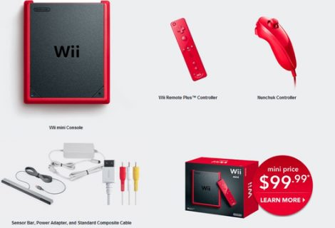 Wii Mini Console Releasing Next Month