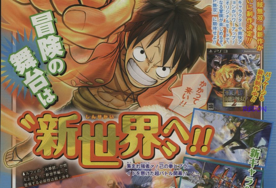 One Piece: Pirate Warriors 2 Announced for Japan