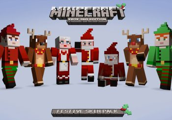 Festive Skins Come To Minecraft Xbox 360 Edition