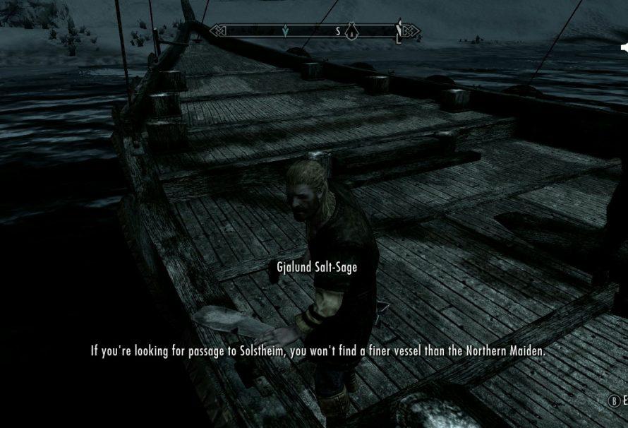 Skyrim Dragonborn DLC - How to get to Solstheim - Just Push