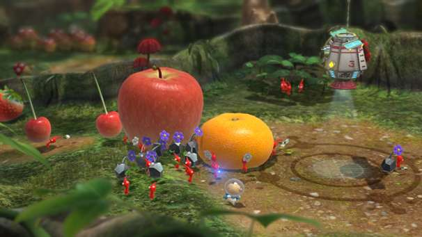 Nintendo Releases New Pikmin 3 Trailer Just Push Start