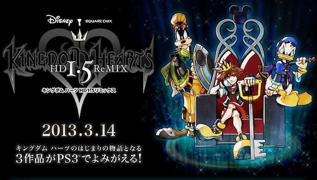 Kingdom Hearts 1.5 HD Remix has a release date in Japan