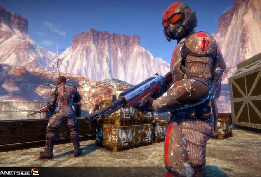 Planetside 2 offer gamers a double XP event throughout the holidays