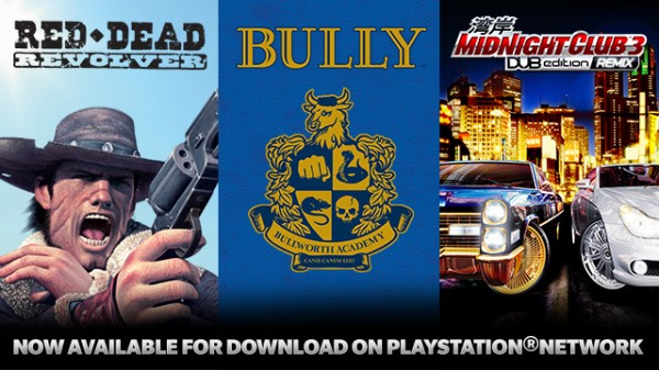 Three More Rockstar Games Now Available On The PSN