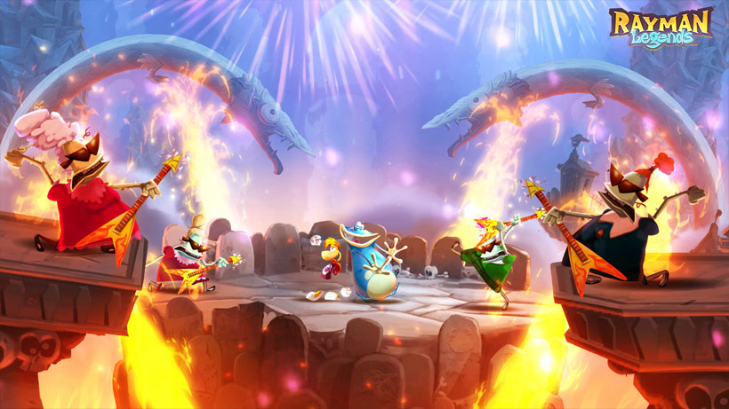 Rayman Legends Demo Now Available in the Nintendo eShop