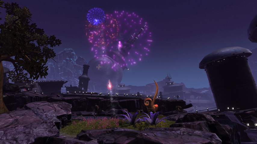 Star Wars: The Old Republic celebrates its first year anniversary with a 'bang'