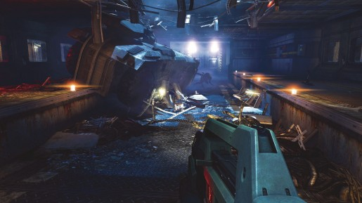 Aliens Colonial Marines PC screen