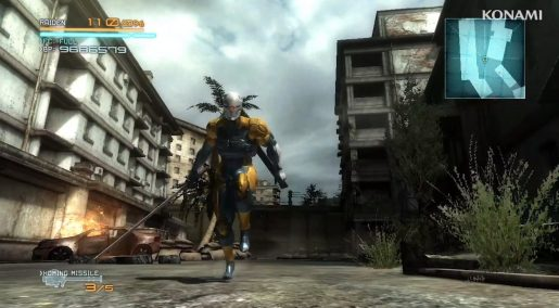 Metal Gear Rising Gray Fox
