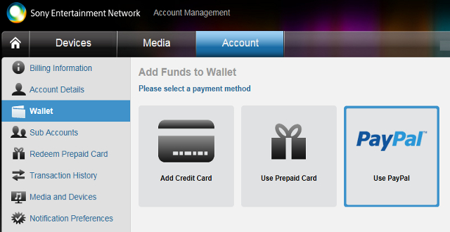 North American PSN Now Adds Paypal Option