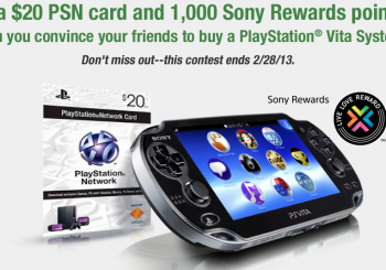 Get Your Friends to Buy a Vita and Score a $20 Dollar PSN Card and More