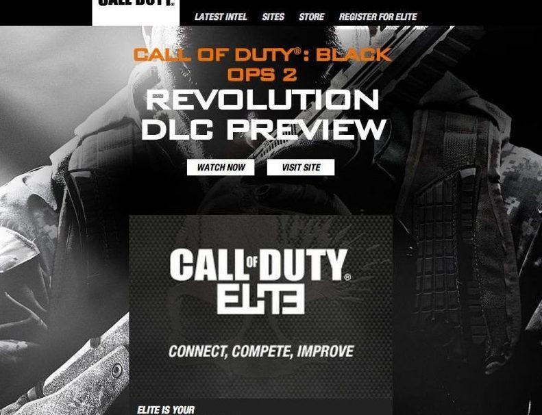 Black Ops 2 Banner All But Confirms Revolution DLC