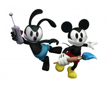 epic mickey characters