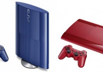Red and Blue PS3 Slims Headed to the UK Next Month