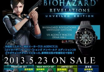 Japanese Resident Evil: Revelations Special Edition Comes With A Cool Watch