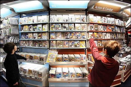 UK Video Games Market Down 17.4% In 2012