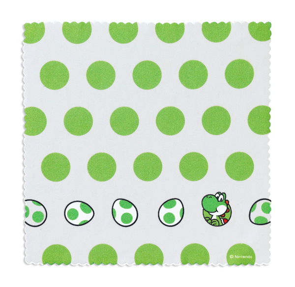Club Nintendo Adds Yoshi Cleaning Cloth for 400 Coins