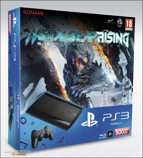 France To Receive Metal Gear Rising: Revengeance PS3 Bundle