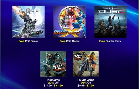 Vanquish & Mega Man Hunter X Free on PS Plus this week