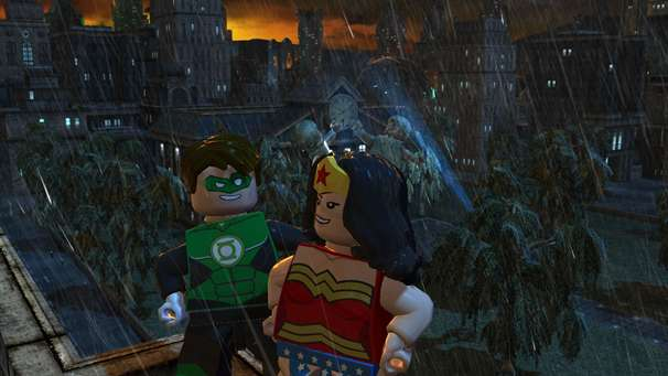 Lego Batman 2 Dc Super Heroes Flying Onto The Wii U