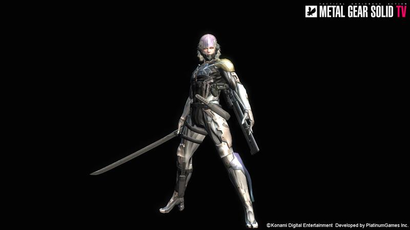 Metal Gear Rising Gets Metal Gear Solid 4 Raiden