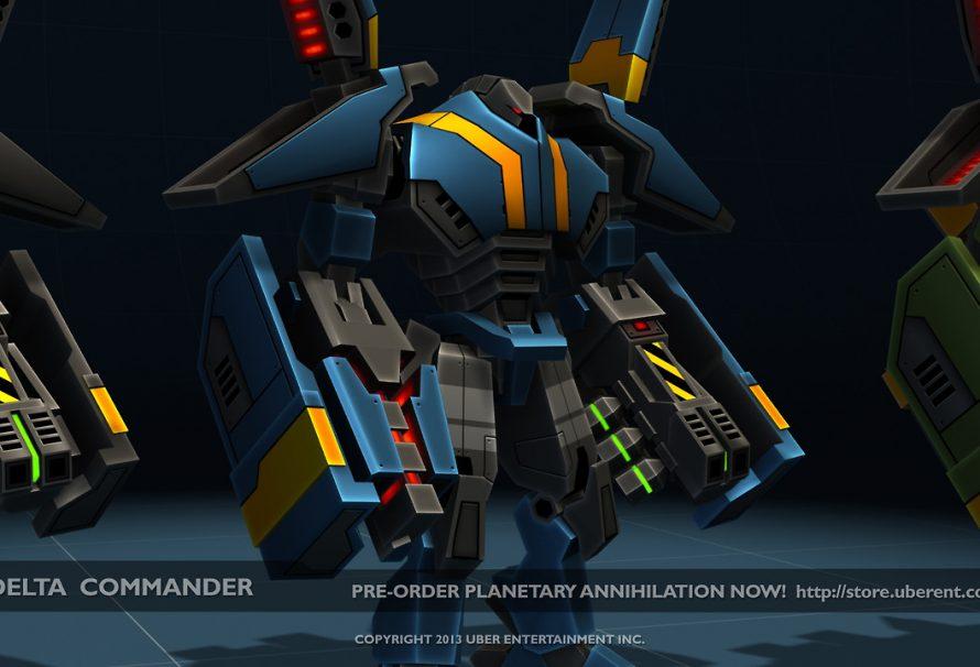 Planetary Annihilation Delta Commander Screens Released