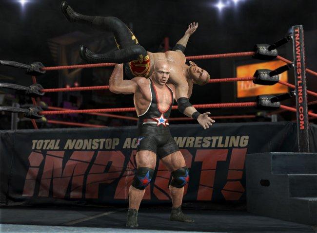 Activision Eyeing TNA Wrestling Video Game License