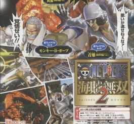 4 New Playable Characters Announced for One Piece: Pirate Warriors 2