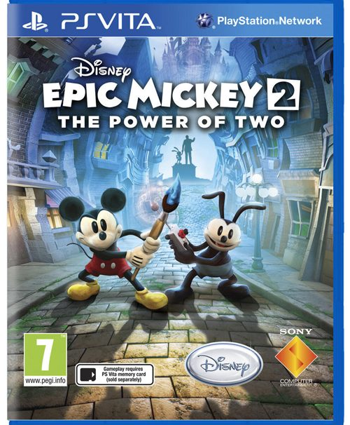 Epic Mickey 2 Announced for the Vita