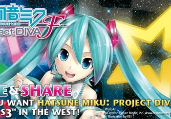 Sega is Reconsidering Hatsune Miku Project Diva F for US / EU Release