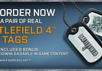 Preorder Battlefield 4 Today For Exclusive Dog Tags