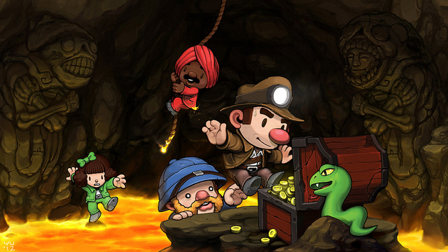 Spelunky Is Finally Releasing on the PS3 and Vita this Summer