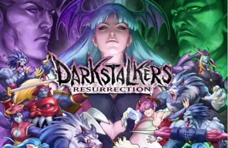Darkstalkers Resurrection Review Logo