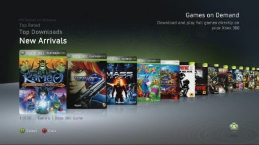 Microsoft Games on Demand