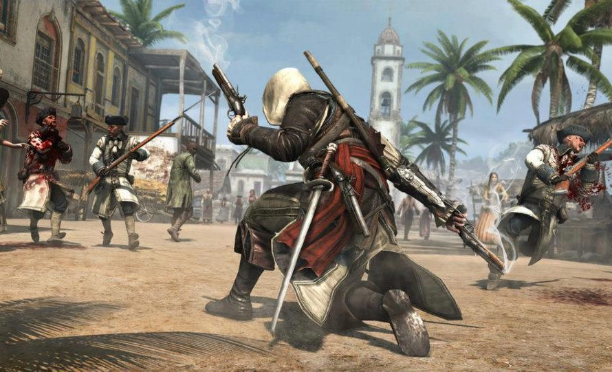 First Assassin's Creed IV: Black Flag Screenshots Revealed