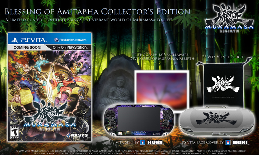 Muramasa Rebirth Limited Edition Formally Announced and Detailed