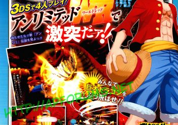 One Piece Unlimited World: Red Announced for the Nintendo 3DS
