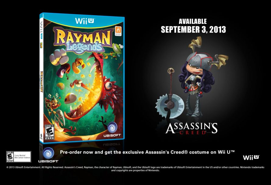Preorder Items Announced for Rayman Legends