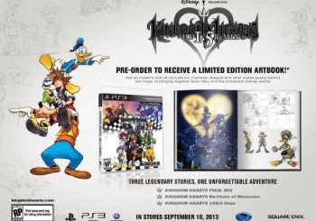 Preorder Kingdom Hearts HD 1.5 Remix and Score an Artbook
