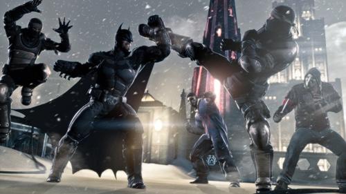 Box Art And New Screenshots Revealed For Batman: Arkham Origins