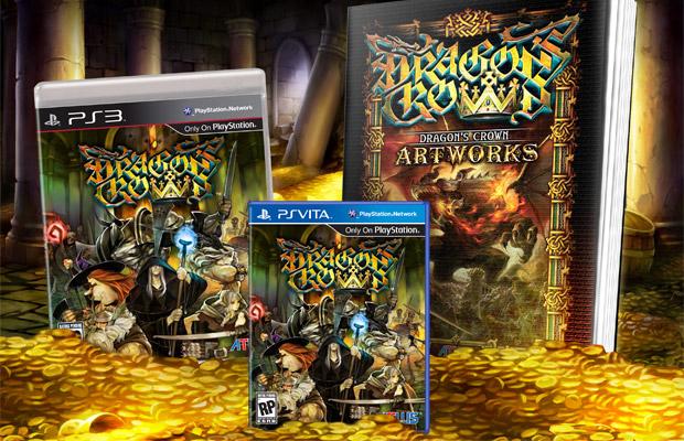 3rd-strike. Com | dragon's crown artbook pre-order bonus.