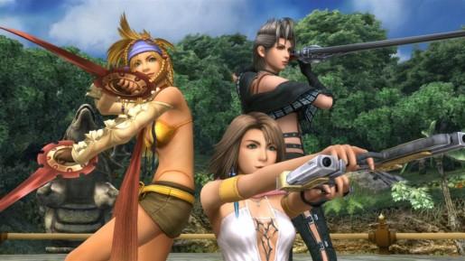 Final Fantasy X-2 HD Screenshot