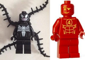 Venom and Human Torch Will Be In LEGO Marvel Super Heroes