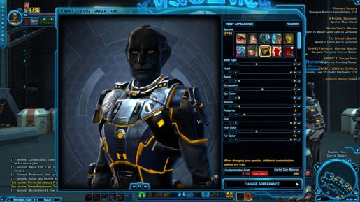 SWTOR Game Update 2.1- Cathar