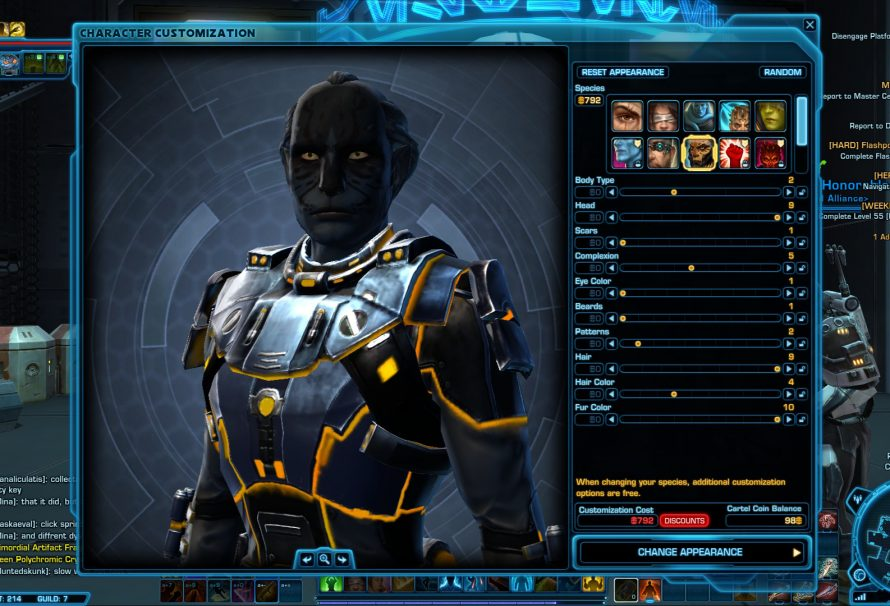 SWTOR Game Update 2.1 Points to an Awful New Direction