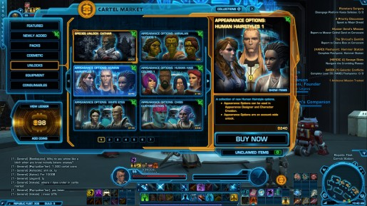 SWTOR Game update 2.1 - Cathar 2