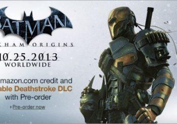 Preorder Batman Arkham Origins and Get Playable Deathstroke DLC